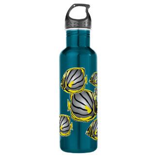 Butterfly fish 24oz water bottle