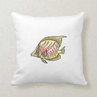 Butterfly Fish Pillow