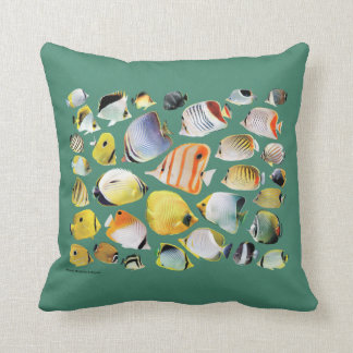 Butterfly fish pillows