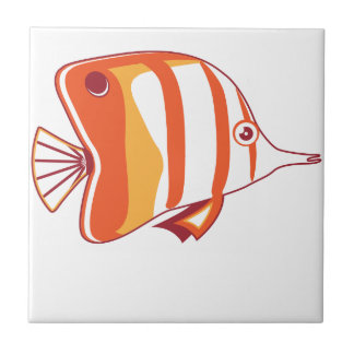 Butterfly fish tile