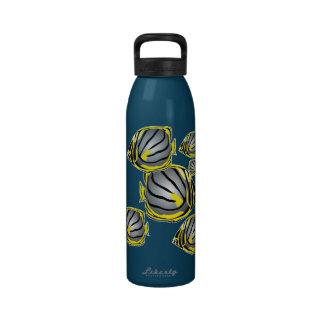 Butterfly fish water bottle