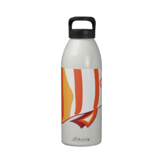 Butterfly fish water bottles