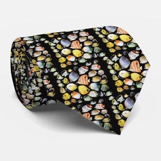 Butterfly fishes tie