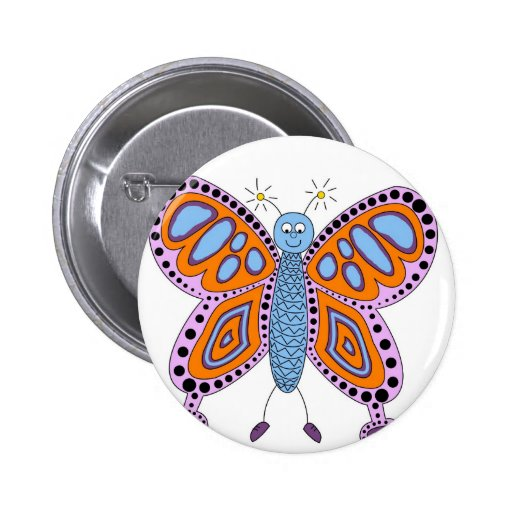 Butterfly Floral Blossoms Destiny Gardens Pin