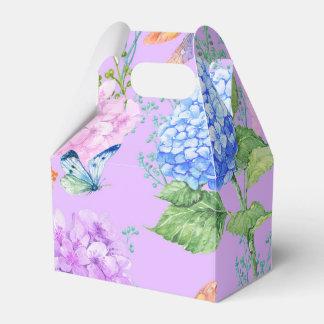 Butterfly Floral Garden Favor Box