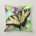 Butterfly  Flowers Pillow