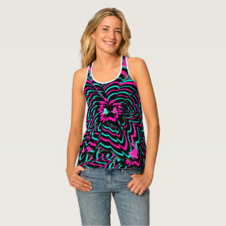 Butterfly Flowers Tank Top
