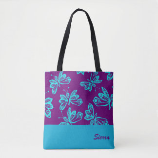 Butterfly Flutter Tote Bag