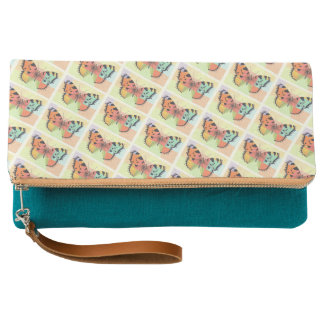 Butterfly Fold-Over Clutch