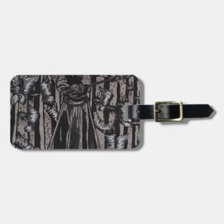 Butterfly Forest by Carter L. Shepard Luggage Tag