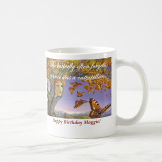 """Butterfly Forgets"" Mug"
