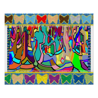 BUTTERFLY Frame replace centre IMG yr PHOTO TEXT Perfect Poster