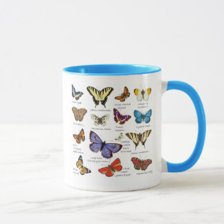 Butterfly Full Color Illustrations popular types Mug