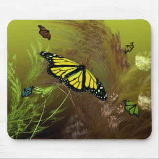 Butterfly Garden 2 Mouse Pad