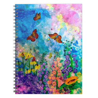 Butterfly Garden 6.5 x 8.75 Notebook