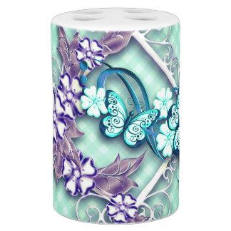 Butterfly Garden Bathroom Set