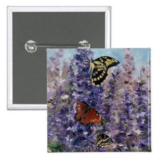 Butterfly Garden Button