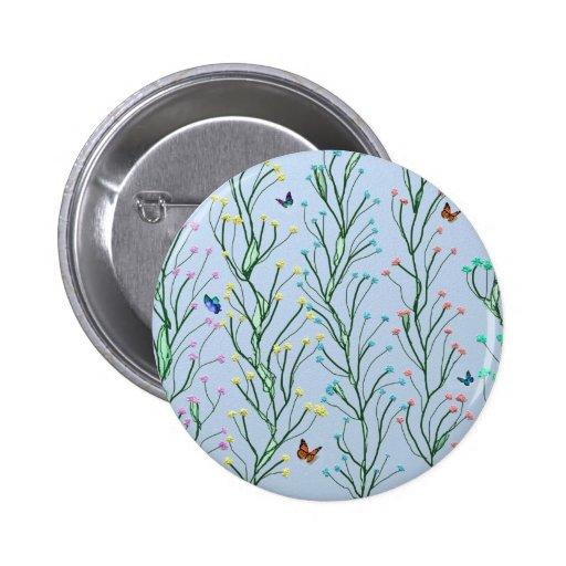 Butterfly garden pin