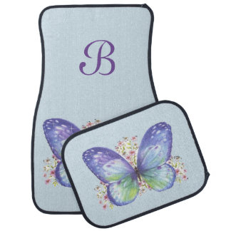 Butterfly Garden Car Mat