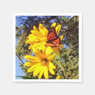 Butterfly Garden Disposable Napkin