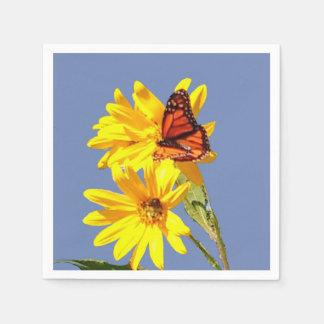 Butterfly Garden Disposable Napkins