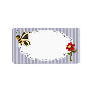 Butterfly Garden Label Labels