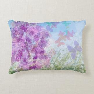 Butterfly Garden Rectangular Decorative Pillow