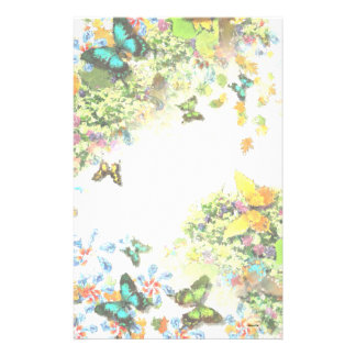 BUTTERFLY GARDEN S1 Design Stationery