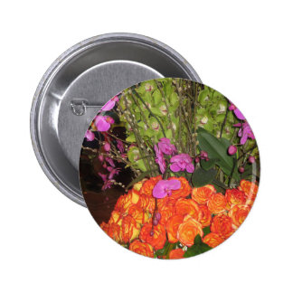 BUTTERFLY Garden Vegas: Flowers, Ladybug,Gifts 2 Inch Round Button