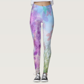 Butterfly Garden Women's Leggings