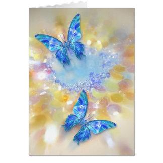Butterfly Gems Card