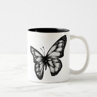 butterfly.gif 400389 pixels Two-Tone coffee mug