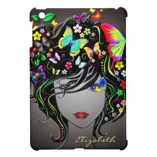 Butterfly Girl 1&1A iPad Mini Cases Options