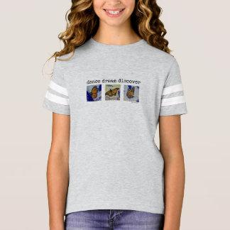 Butterfly Girl's Football Shirt