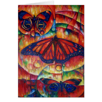 Butterfly Glory Greeting Card