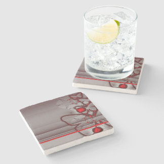 Butterfly Grace Stone Coaster