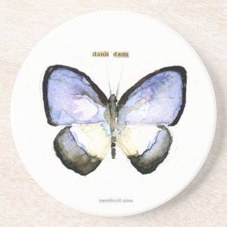 Butterfly: Green-Banded Blue Coaster