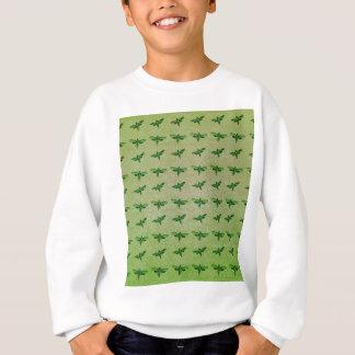 Butterfly green+blue sweatshirt
