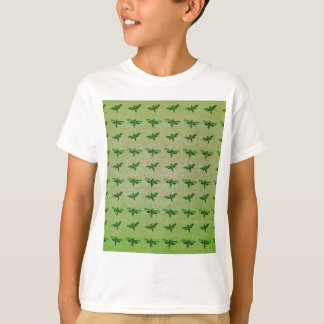 Butterfly green+blue T-Shirt