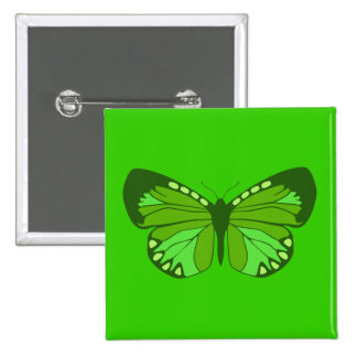Butterfly Greens Pins