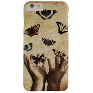 "Butterfly Hands Nature Sad ""Mobile Case"" Barely There iPhone 6 Plus Case"