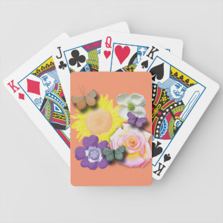 Butterfly hangout bicycle playing cards