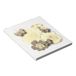 Butterfly hangout notepad