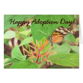 butterfly, Happy Adoption Day! Card