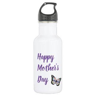 Butterfly Happy Mother's Day 532 Ml Water Bottle