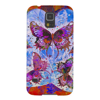 Butterfly Hearts   Today I Love You Galaxy S5 Case
