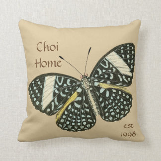 Butterfly Home Custom Throw pillow