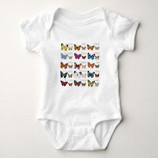 Butterfly Identification Baby Bodysuit