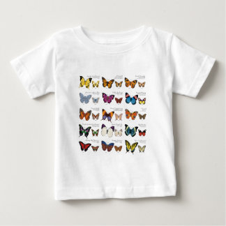 Butterfly Identification Baby T-Shirt