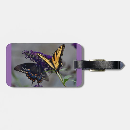 Butterfly in Flight Luggage Tag